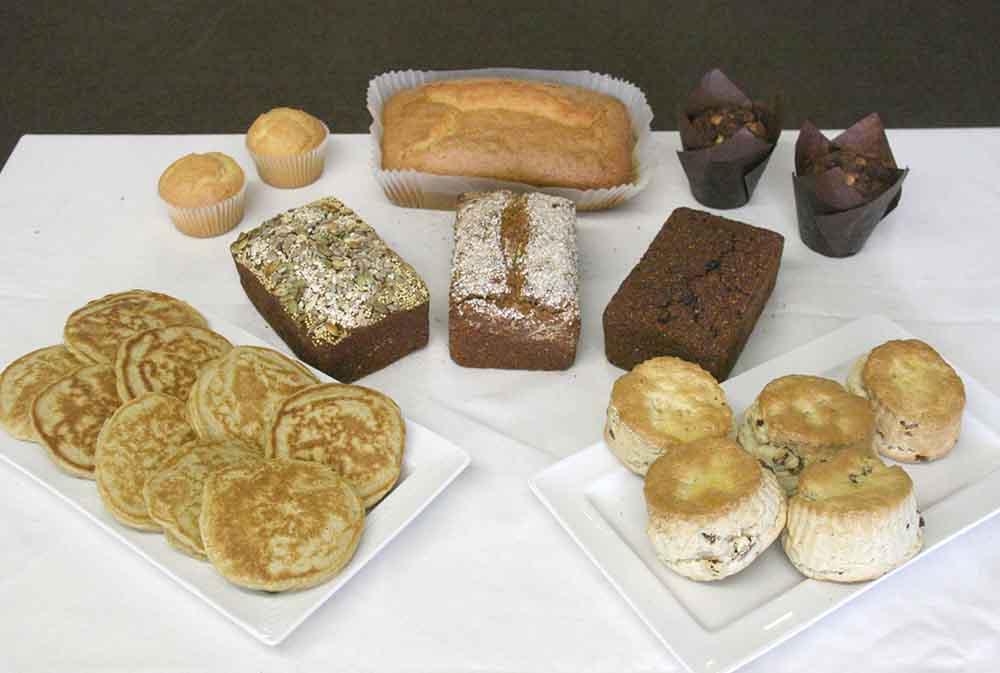 range of gluten free