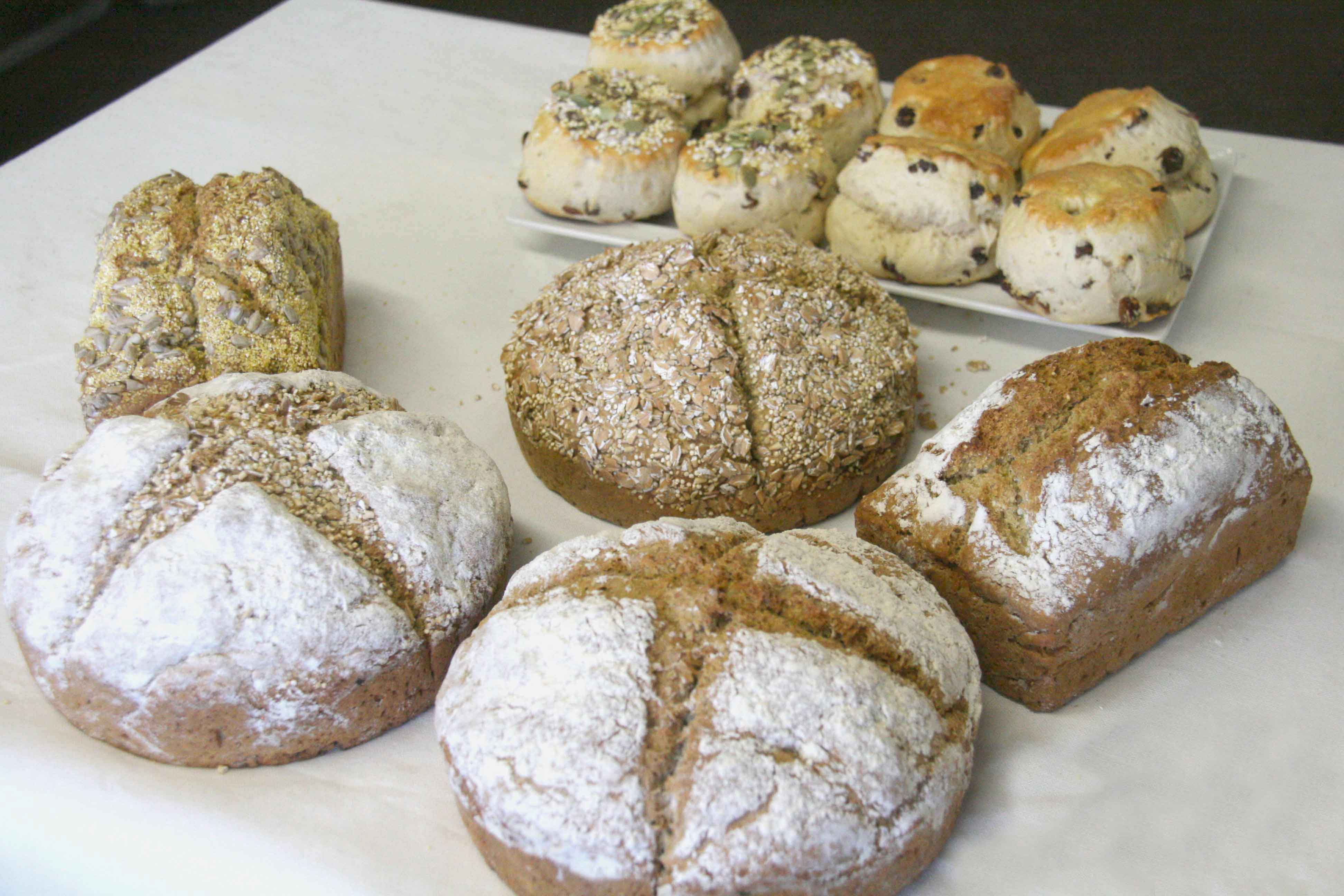 range of gluten free products
